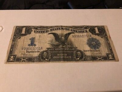 1899 Series Black Eagle $1 Silver Certificate Large Note