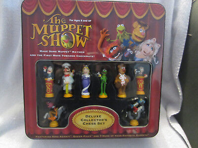 The Muppets Deluxe Chess Set-Used-2003