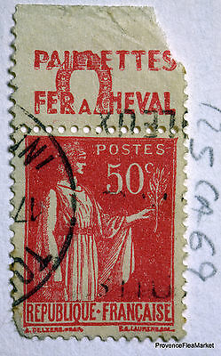 FRANCE STAMP CANCELLED BOOK ADVERTISING PUB ON PEACE 50c Yt 283 152CA69