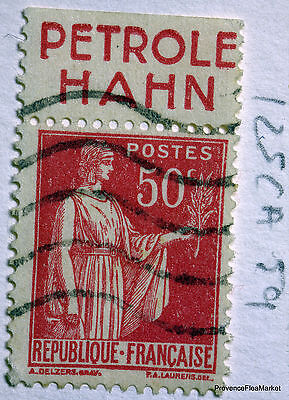 FRANCE STAMP CANCELLED BOOK ADVERTISING PUB ON PEACE 50c Yt 283 125CA59