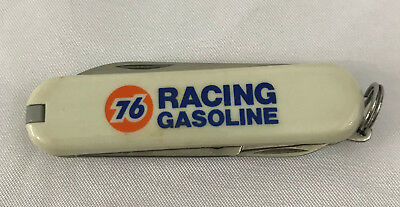 Swiss Army brand  76 Racing Gasoline UNOCAL UNION 76  Advertising pocket Knife