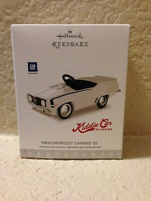 Hallmark Keepsake Ornament 2017 Kiddie Car Classics GM 1969 Chevrolet Camaro SS