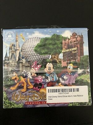 Walt Disney World Official Album 2 CD Disc Set Park Music From All 4 Theme Parks