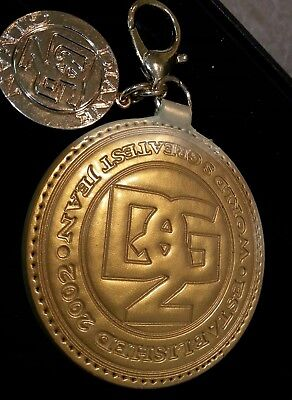 Designer Diane Gilman DG2 Jeans Large Key Chain FOB Advertising Collectible