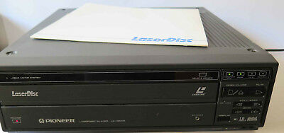 Pioneer LD-V8000 Industrial Laserdisc Player Tested and Working + 1 Game