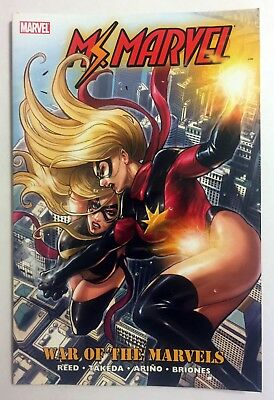 Ms Marvel Vol 8 War of the Marvels TPB OOP VFNM VERY RARE Brian Reed