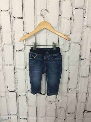 Baby Gap Jeans Size 0/3 Months Denim Pull On Skinny