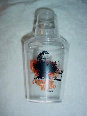 RARE Sammy Hagar Cabo Wabo TEQUILA Rainforest Cafe Cocktail Shaker