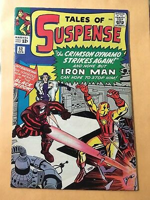 Tales of Suspense #52 (Apr 1964, Marvel) 1st Black Widow