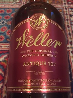 Weller Antique 107, Empty Bottle, 1.75L, Unopened