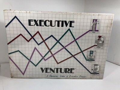 Executive Venture Board Game 1986