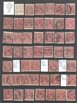 KGV 170+1½d BROWN - IDEAL FOR SHADES, CDS, SOME VARIETIES, OS, OS NSW, BOTH WMKS