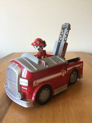 Paw Patrol Marshall's Fire Fightin' Truck, Vehicle and Figure Toy