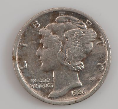 1926-D Barber/Liberty Head One Dime *G23