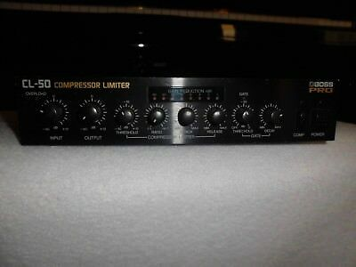 Boss CL 50 Compressor Limiter made in Japan