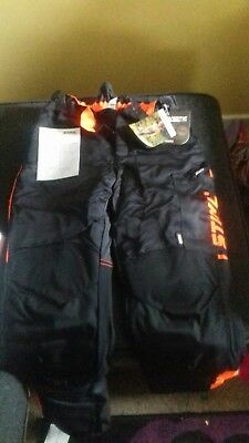 stihl Dynamic chainsaw trousers size small design c class 1.