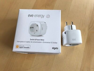 ELGATO Energie Eve (EU-Stecker) - Switch & HomeKit Leistungsmesser