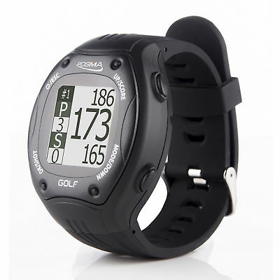 POSMA GT1Plus Golf Trainer GPS Golf Watch Range Finder - Black