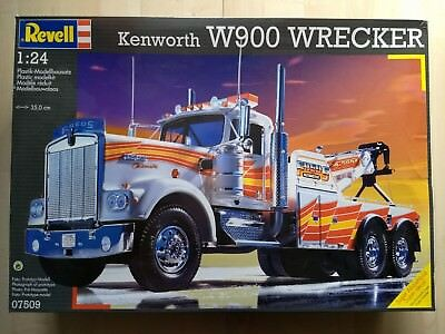 Revell Kenworth W900 Wrecker Maßstab 1:24 No.07509 OVP