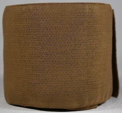 """774g roll of 4.5"""" inch brown woven elastic (segmented)"""