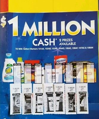 ~~Monopoly Game 7 of 8 Pieces for $1 Million Prize - Vons Albertsons Safeway!!~~