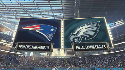 Superbowl LII 52 2018 Philadelphia Eagles - New England Patriots auf DVD