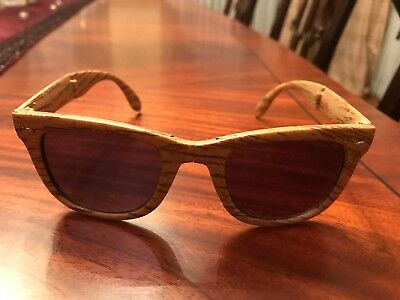 "CAPTAIN MORGAN FOLDING ""BROWN "" SUNGLASSES ---- Very COOL"