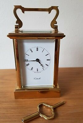 20th Century English Carriage clock, 8-day 7 jewels