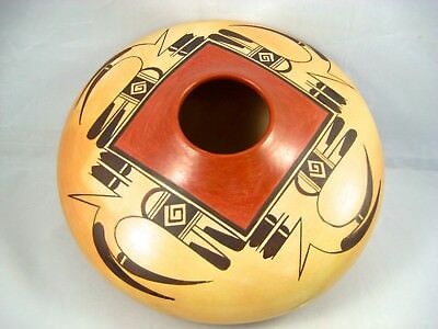 """Hopi Pottery by Fawn Navasie...9"""""""