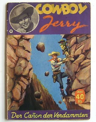 JERRY GRAY / COWBOY JERRY - 10 -- GLÖß VERLAG - Romanheft