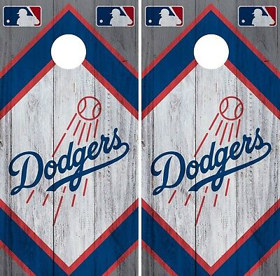 s LD4 Los Angeles Dodgers cornhole board or vehicle decal