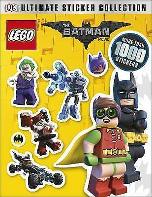The LEGO® BATMAN MOVIE Ultimate Sticker Collection by DK   Paperback Book   9780