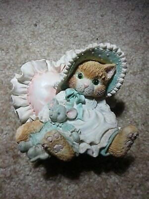 "Enesco calico kittens collectibles #623504, ""A Warm Hug With My Friend"""