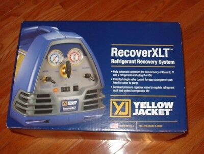 Yellow Jacket 95760 - RecoverXLT Refrigerant Recovery Machine 2017 Model