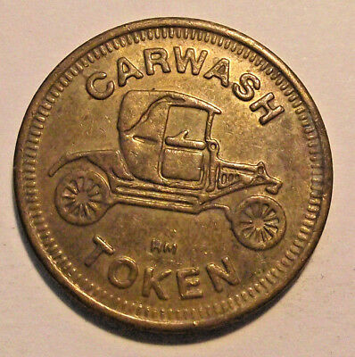 ELECTRA CAR WASH TOKEN (LOT A475) g.f. 75c
