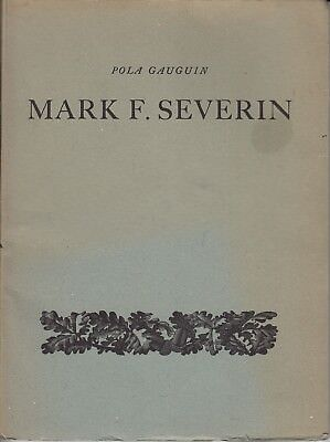 Book Mark F. Severin by P. Gauguin with 3 engravings and many woodcut exlibris