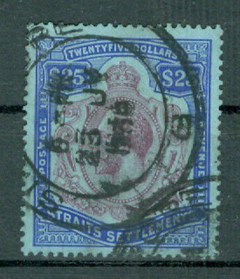 1930, Strait Settlements 25 Dollar King George, used (49)