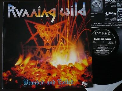 RUNNING WILD - BRANDED AND EXILED / Vinyl / orig. Press