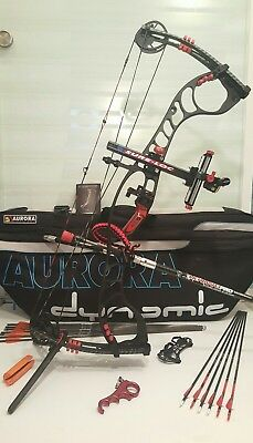 HOYT FAKTOR 34 Compoundbogen SET SureLoc Visier SF Stabi CARTER Release Tasche +