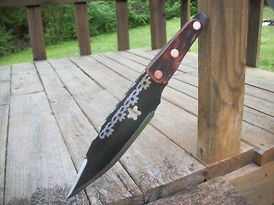 CUSTOM Recurve Spear Point Throwing Knife Set Spin, No ...