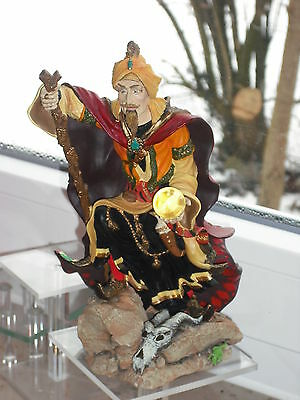 Figur Zauberer  Land of the Dragons Wüstenland Zauberer Desert Wizard Tudor Mint