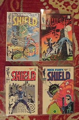 Nick Fury Agent of Shield #1, 3, 4, and 5