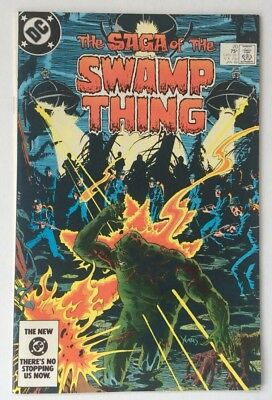 1984 The Saga Of The SWAMP THING #20 DC Comic Book
