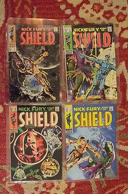 Nick Fury Agent of Shield #6, 9, 10, and 11