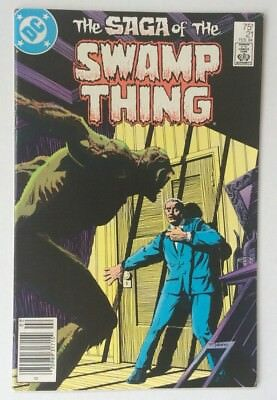 1984 The Saga Of The SWAMP THING #21 DC Comic Book