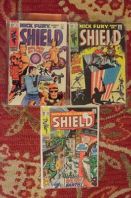 Nick Fury Agent of Shield #12, 13, and 16