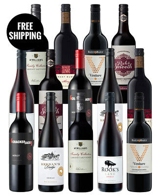 Red Wine Champions (14 Bottles)