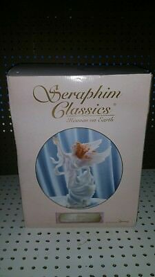 "Seraphim classics 12"" h lucy reach for the stars angel figure nitb"