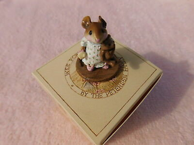 "Wee Forest Folk "" MOUSEY""S BUNNY SLIPPERS "" M-218 - Mint - W/Orig. Box 1996-2006"