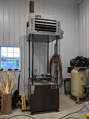 Pre-owned Waste Oil Heater/Furnace Lanair MX200 with tank